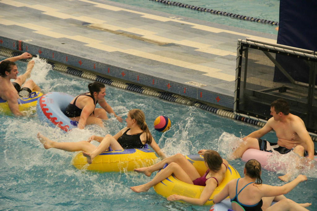 intramural innertube water polo