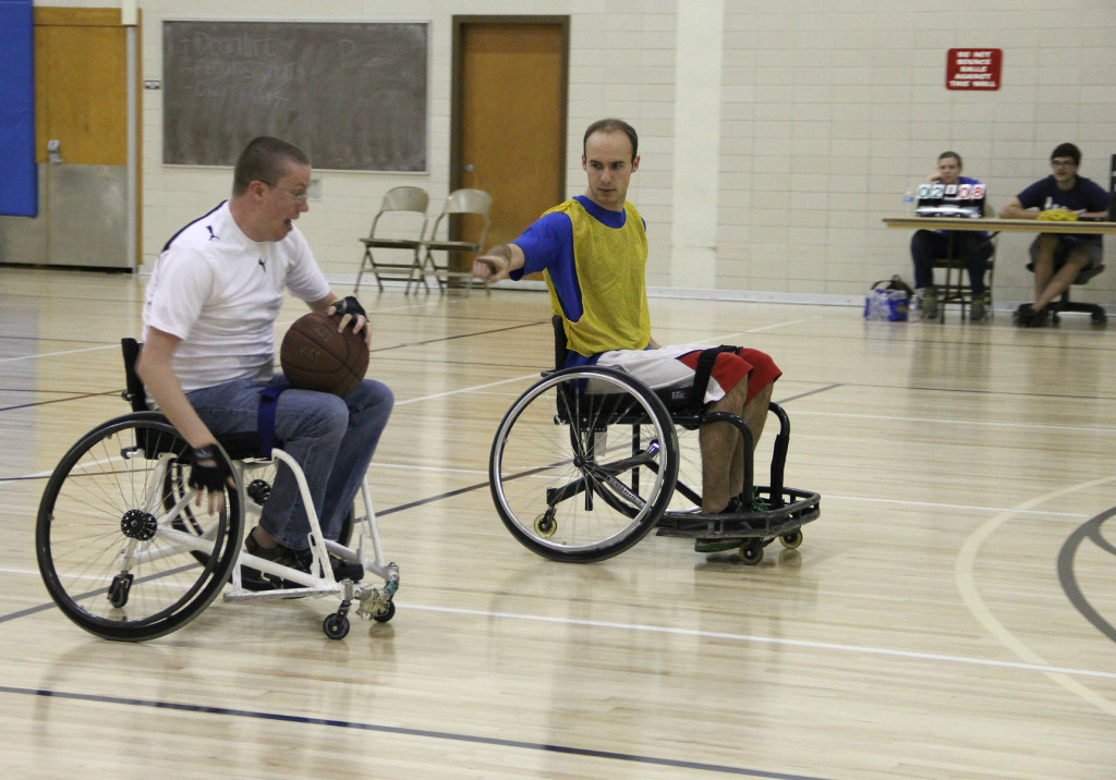 byu wheelchair basketball
